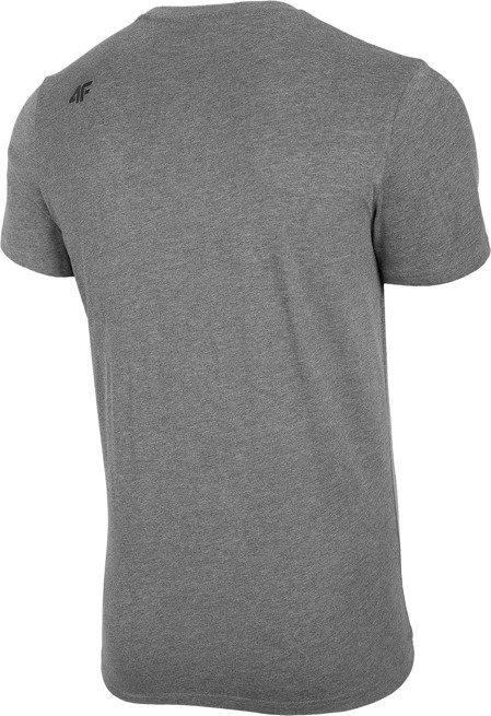 T-shirt męski 4F TSM003 koszulka szara