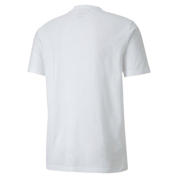 T-shirt męski Graphic Tee Puma 581552 02 biały