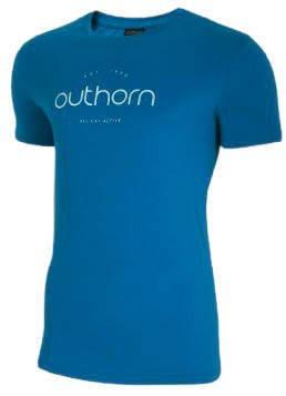 T-shirt męski OUTHORN TSM625 niebieska