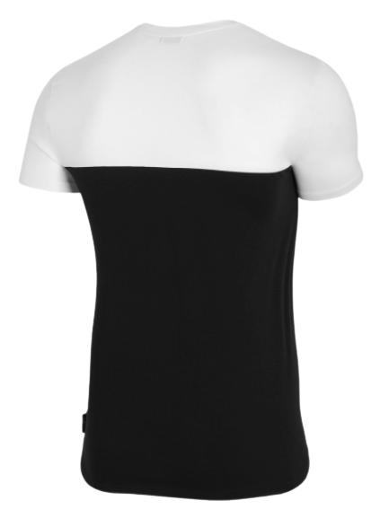 T-shirt męski OUTHORN TSM626 koszulka czarna