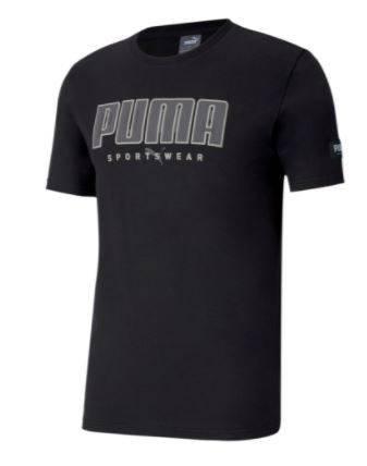 T-shirt męski PUMA 583450 01 koszulka czarna
