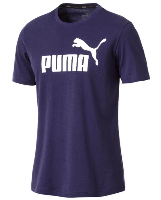 T-shirt męski PUMA ESS Logo 851740 granatowy