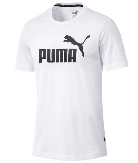 T-shirt męski PUMA ESS Logo Tee 851740 biały