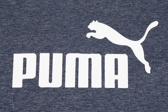 T-shirt męski Puma 852419 06 granatowy melanż