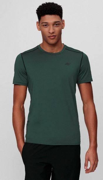 T-shirt sportowy męski 4F TSMF013 treningowy