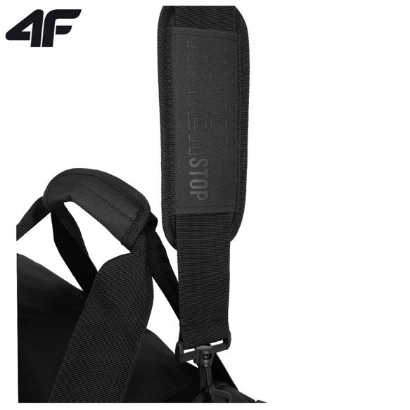 Torba sportowa 4F podróżna TPU007 czarna