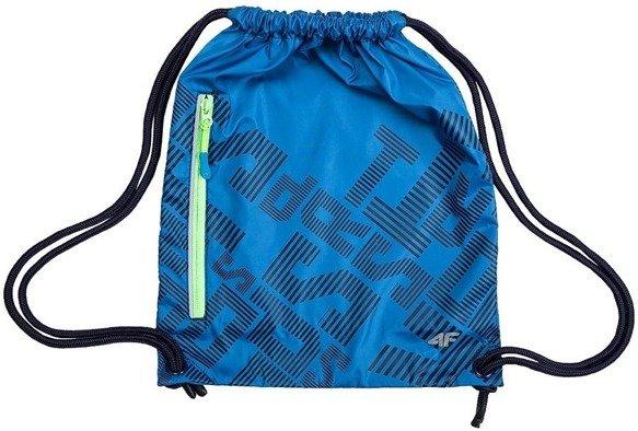 Torba uniwersalna plecak worek 4F niebieska