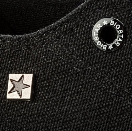Trampki damskie BIG STAR AA274009 buty CZARNE