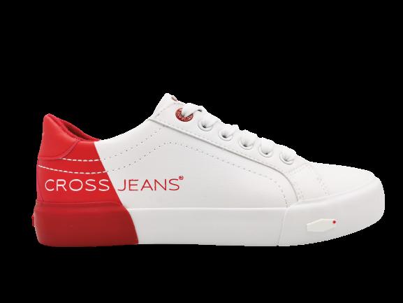 Trampki damskie CROSS JEANS EE2R4016C białe