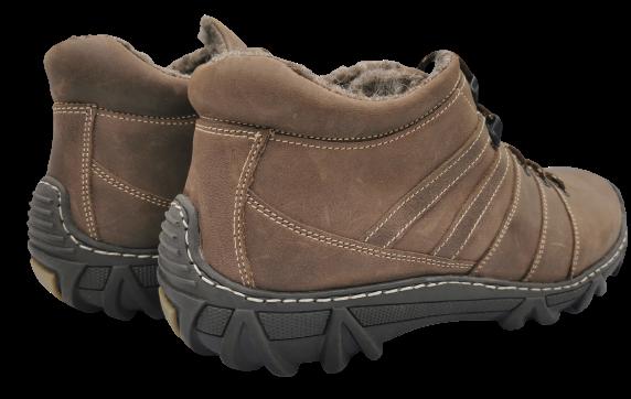 Trapery zimowe 101 buty skórzane ocieplane