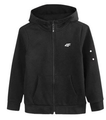Zestaw sportowy dres chłopięcy 4F czarny