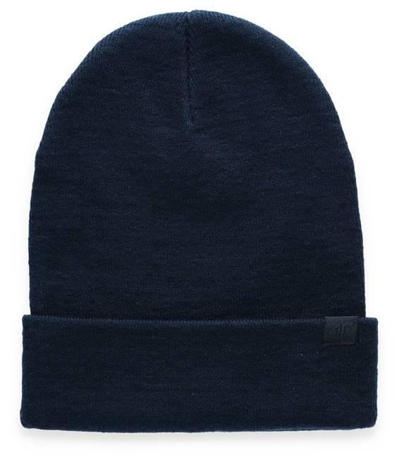 czapka jesienno-zimowa 4F CAD006 granat