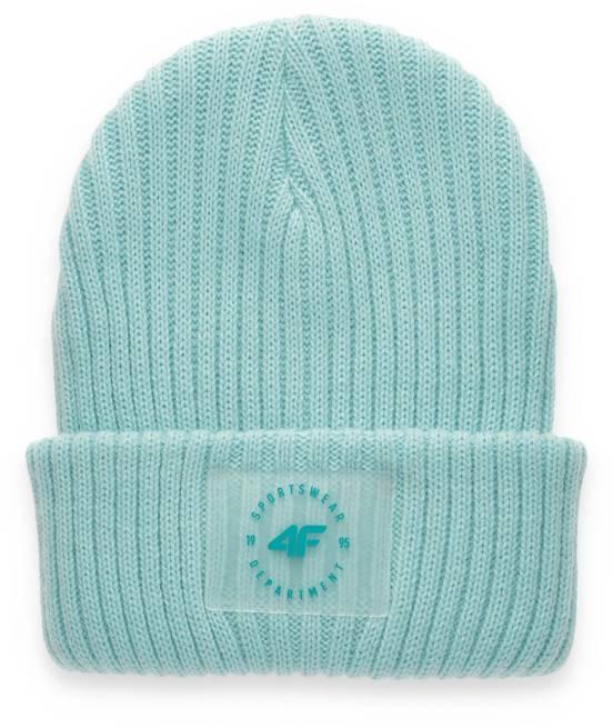 czapka zimowa damska 4F CAD004 mięta