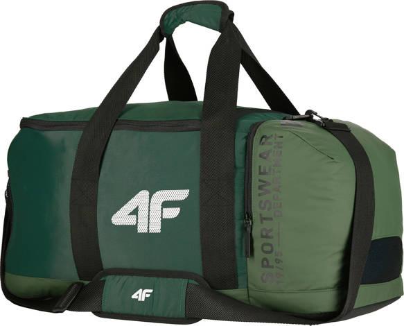 torba sportowa 4F z kieszenią na buty KHAKI